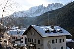 View from the Hotel, Nova Levante, South Tyrol