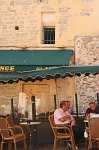Street cafe in Hyeres