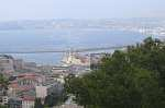 View of Marseille Bay from Notre Dame de la Gard