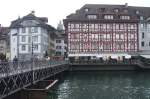Reuss Bridge, Lucerne, Switzerland